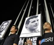 Vigilia en reclamo por las victimas del terrorismo de estado, en el Monte de las Banderas de la Tribuna Antimperialista, en La Habana, Cuba, el 5 de octubre de 2011. AIN FOTO/Abel ERNESTO