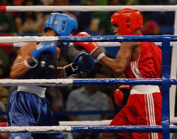 Yasnier Toledo fue una de las 4 medallas de oro que le deparó a Cuba el boxeo en la jornada de ayer. Foto: AIN Foto/Juan Moreno/Diario Juventud Rebelde