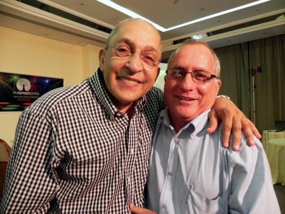 Juan Formell y Mario Escalona Director de la EGREM