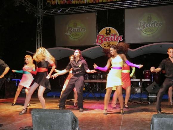 En la inauguración de Baila en Cuba, actuaron las compañías danzarias, Rakatán y PMM. Foto: Marianela Dufflar