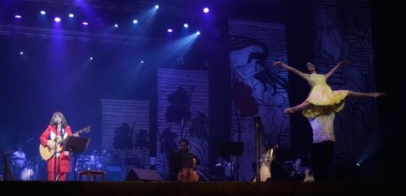 """Concierto de Liuba María Hevia """"Como un ángel que despierta"""". Foto: Olivia Prendes"""
