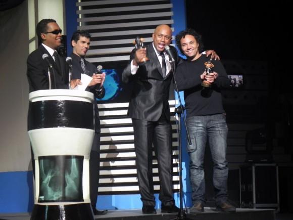 La Charanga se alza con el Premio de la Popularidad. Foto Cubadebate