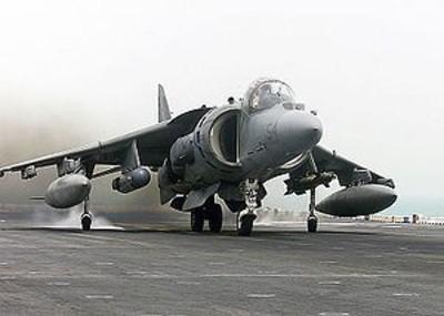 Los jets US AV8B Harrier