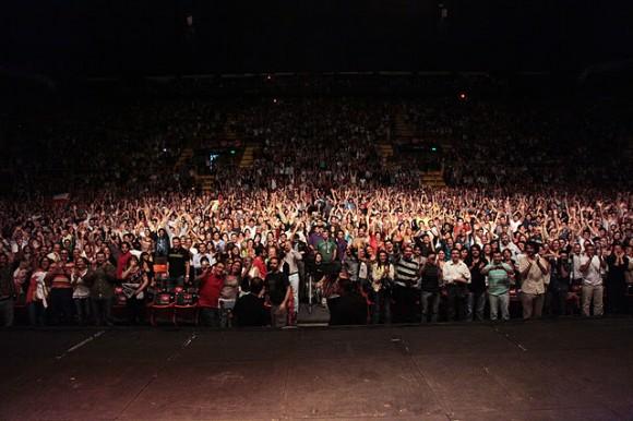Concierto en Córdoba. Foto: Silvio Rodríguez