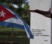 Boca de Sama, Holguin, donde se inauguro Monumento a las victimas de Terrorismo de Estado. Foto: Ismael Francisco