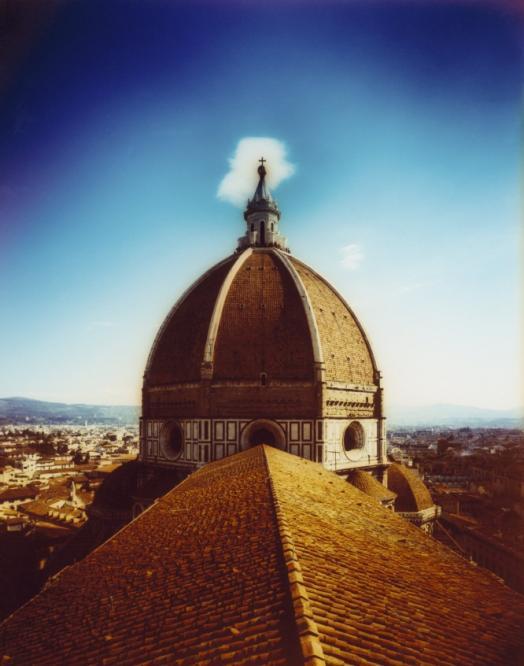 Cúpula de la catedral de Santa María del Fiore de Florencia, obra de Brunelleschi, del siglo XV.