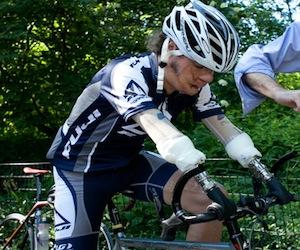 Ciclista Damián López a un paso de su sueño: participar en los Paralímpicos