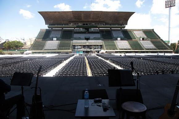 Estadio Ferrocarril Oeste. Foto: Silvio Rodríguez