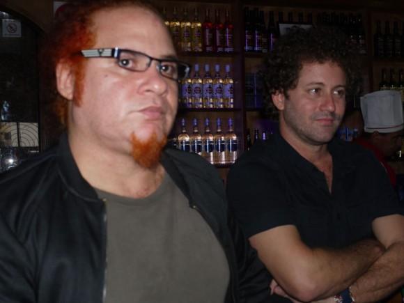A Kelvis y Raúl Paz, se unen músicos excepcionales como Julito Padrón y Robertico Carcasés por solo citar dos ejemplos, en este concierto. Foto. Marianela Dufflar.