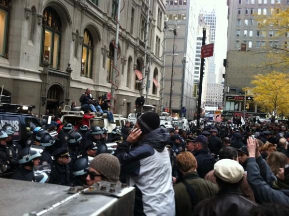 Intervención de la policía de Nueva York