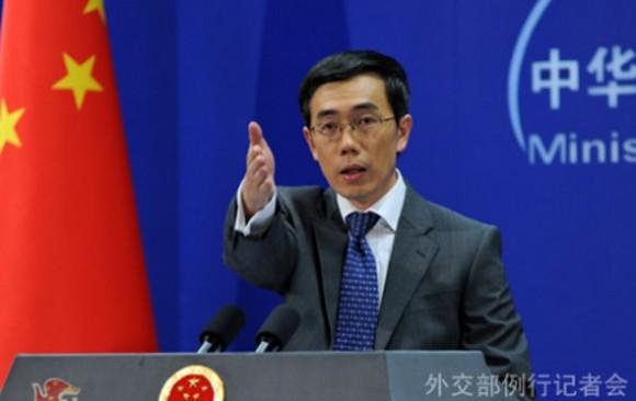 Liu Weimin, portavoz chino.