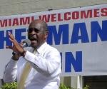 El candidato republicano intentaba hacerle la corte a la extrema derecha de Miami. Foto: EFE