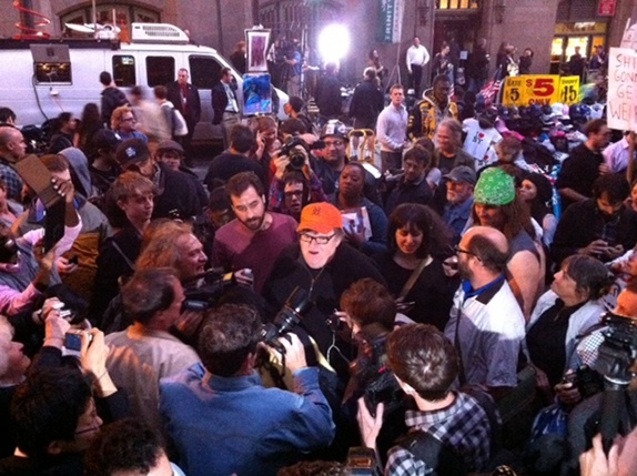 Michael Moore con OCW