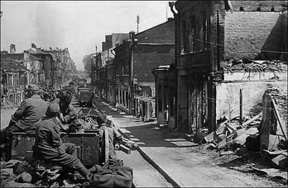 El 28 de junio de 1941 los alemanes ocuparon Minsk: la Avenida Sovetsky