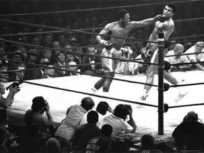 John Joe Frazier vs Mohammed Ali en Madison Square Garden