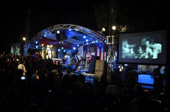 Concierto de Buena fe dedicado al cine en el Pabellón Cuba. Foto Kaloian.