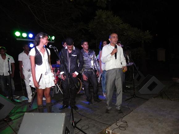 """Los Vanvancitos, orquesta juvenil, integrada por estudiantes del Conservatorio """"Guillermo Tomás"""" de Guanabacoa, actuaron en este homenaje. Foto: Marianela Dufflar"""
