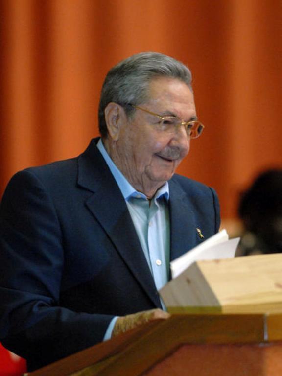 Raul Castro en la Asamblea Nacional del Poder Popular 2011. Foto: AIN
