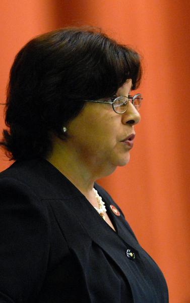 Lina Peraza, ministra de Finanzas y Precio. Foto: Marcelino Vázquez Hernández/AIN