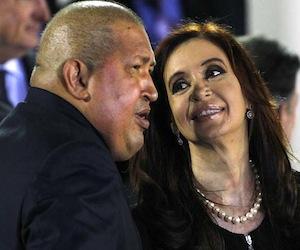 Cristina pide a Chávez incluirla en Cumbre presidentes que vencieron cáncer