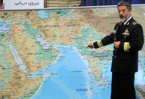 Irán inicia por primera vez ejercicios navales al este del estrecho de Ormuz