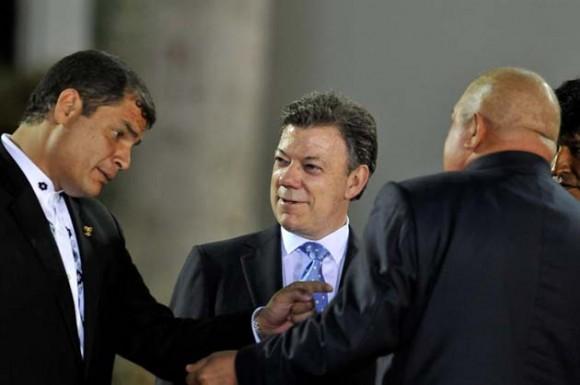 Correa, Santos y Chávez