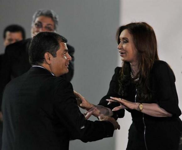 Correa y Cristina