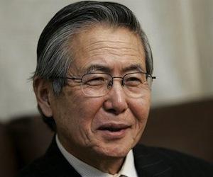 Alberto Fujimori.