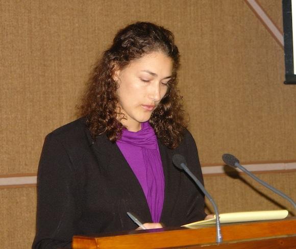 """Aylin Labañino en el Taller """"Los Medios Alternativos y las Redes Sociales"""""""