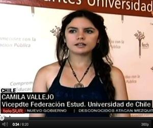 Camila Vallejo: Chile cambió en cada esquina, en cada calle...