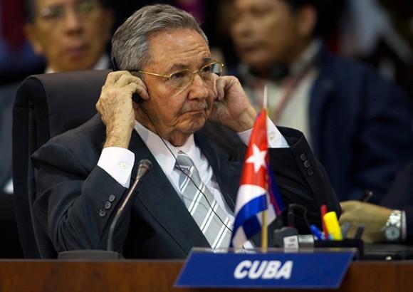 Raúl en la CELAC. Foto: Reuters