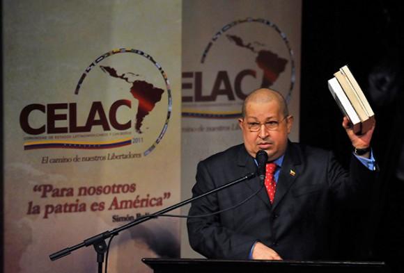 Hugo Chávez en la CELAC