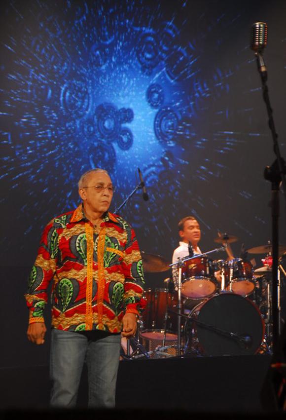 En un concierto en el 2011. Foto: Iván Soca Pascual/Cubadebate