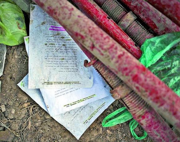 Son 400 páginas que confirman el asesinato de 24 civiles. Fueron encontradas por un periodista en Bagdad.