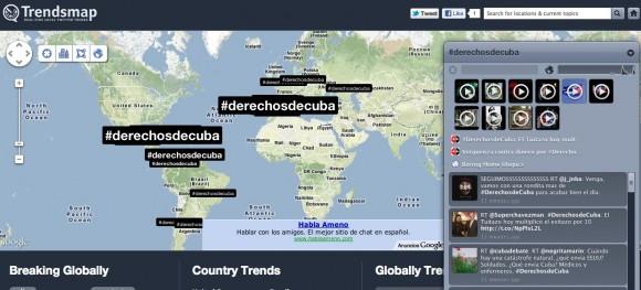 Se sumaron tuiteros de todo el mundo.