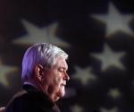 Gingrich, en un acto con veteranos de guerra en Iowa. Foto: Reuters