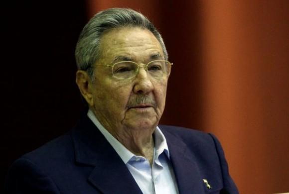 Envía Raúl mensaje de condolencias al Presidente de los Estados Unidos