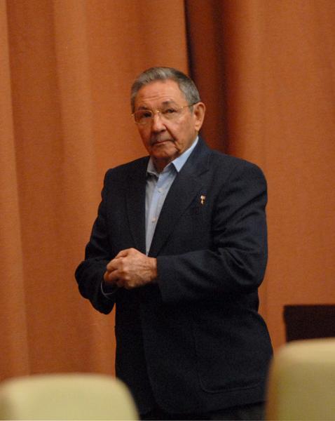 Preside el General de Ejército Raúl Castro Ruz, Presidente de los Consejos de Estado y de Ministros de Cuba, las deliberaciones de la Asamblea Nacional del Poder Popular de la Séptima Legislatura del Octavo Periodo de Sesiones, en el Palacio de las Convenciones, en La Habana, Cuba, el 23 de diciembre de 2011. AIN FOTO/Marcelino VÁZQUEZ HERNÁNDEZ/