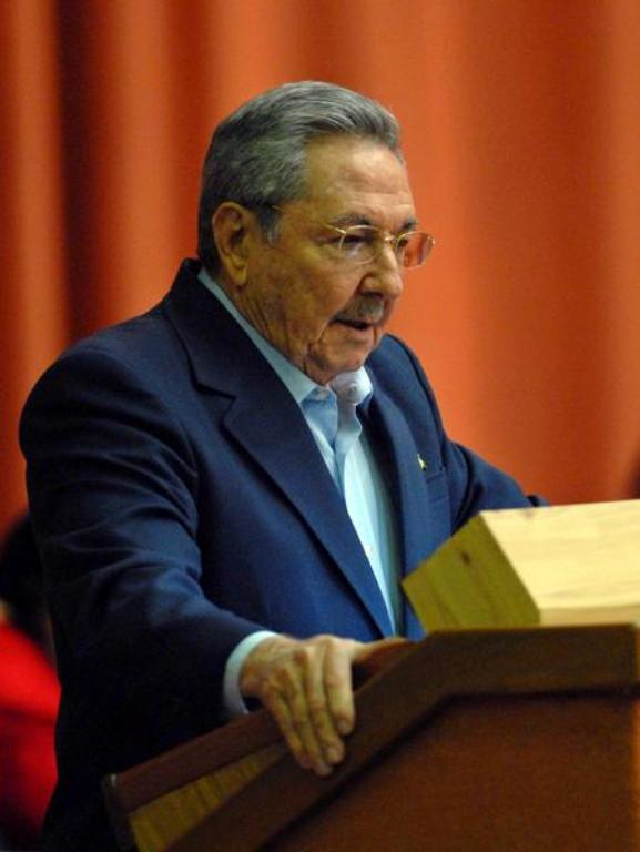 Raul Castro en la Asamblea Nacional del Poder Popular. Foto: AIN