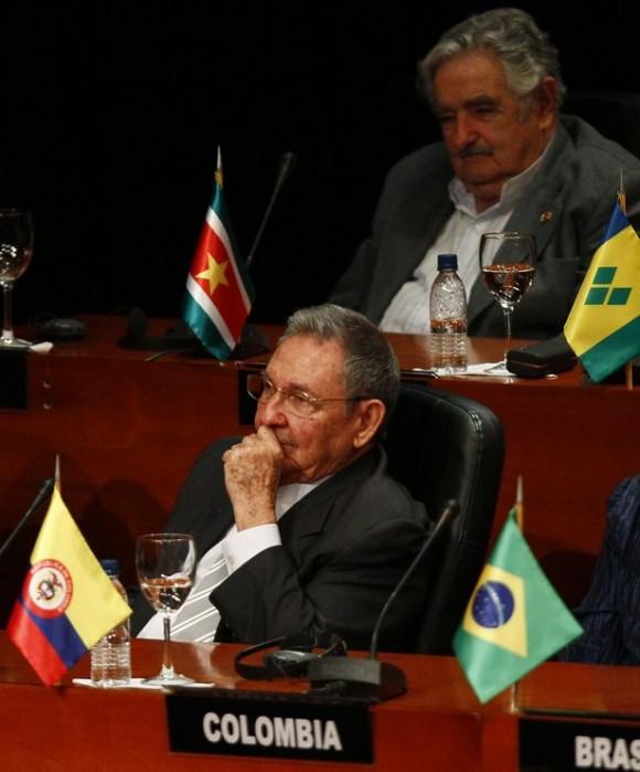 Raúl en CELAC