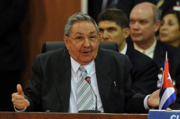 Raúl Castro en CELAC