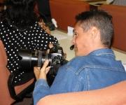 El fotorreportero y bloguero Roberto Suárez. Foto: David Vázquez/ Cubadebate