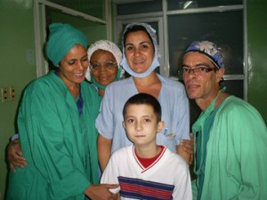 agradecimiento a salud cubana