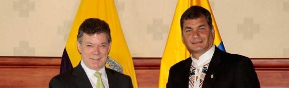 Santos y Correa en Ecuador