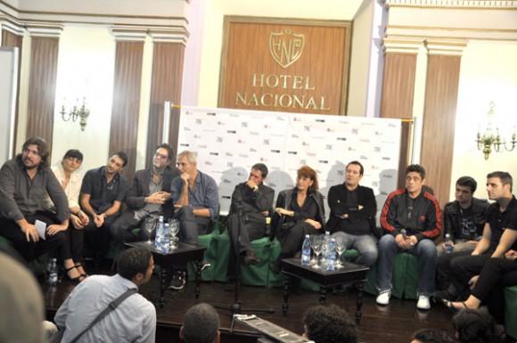 """Benicio del Toro en la presentación de """"Siete días"""" en La Habana. Foto: Kaloian"""