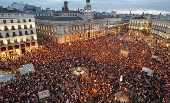 15 de Mayo. El inicio de un sueño. Puerta del Sol de Madrid.