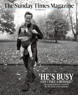 Portada de The Sunday Times Magazine