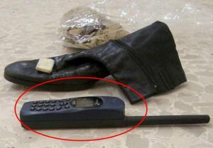 Objetos personales ocupados a Gadaffi durante su captura y posterior asesinato.