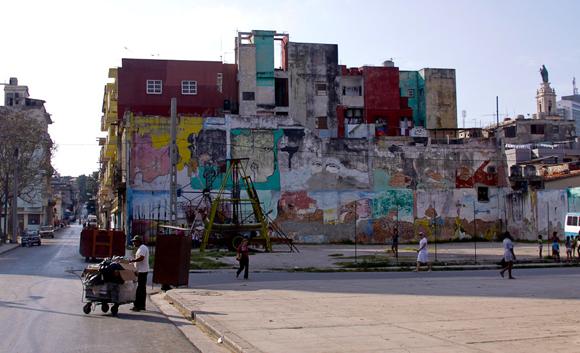 Cayo Hueso. Vista del parque. Foto: Alejandro Ramírez/Cubadebate