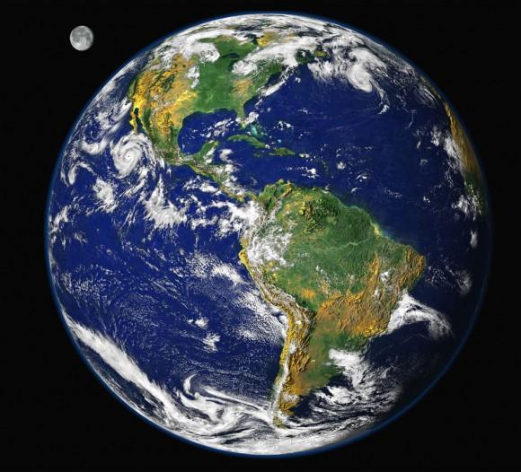 La Tierra en 1997. Foto: NASA